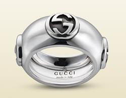 Anelli in argento Gucci