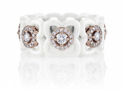 Anello Daylight Enchanted Lotus De Beers