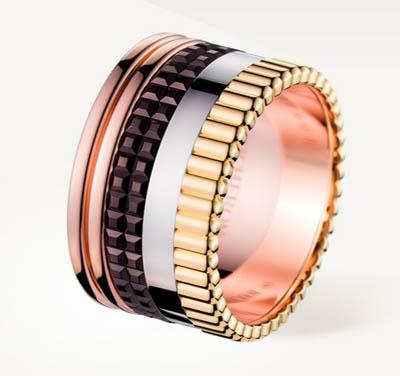 Boucheron gioielli collezione Quatre anello classico