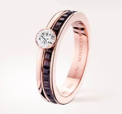 Boucheron gioielli collezione Quatre anello