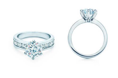 nuovo concetto 1adc3 2df54 Gli anelli di fidanzamento più belli Tiffany Cartier e ...