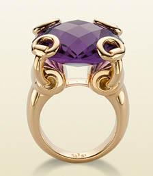 Gucci anello Horsebit