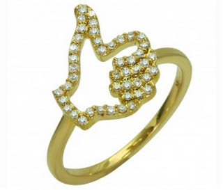 Khai Khai anello Mi Piace