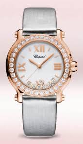 Orologio con diamanti fluttuanti