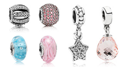 braccialetto pandora bimba con charm